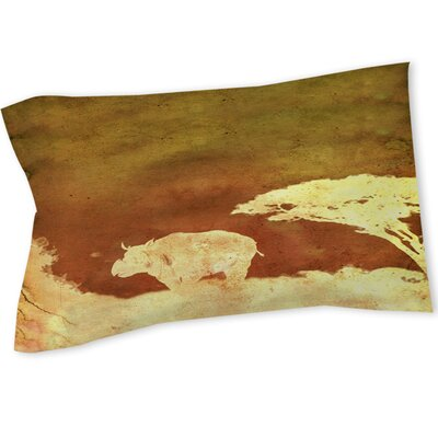 Safari Sunrise 2 Sham Size: Queen/King