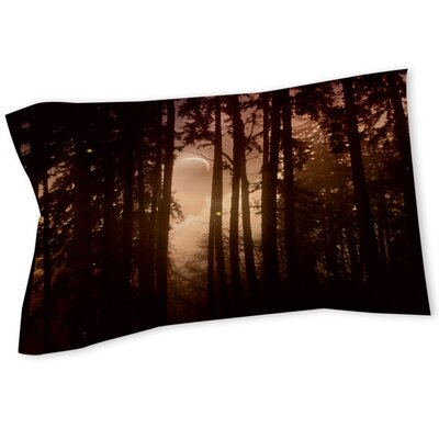 Forest Skyline Sham Size: Twin