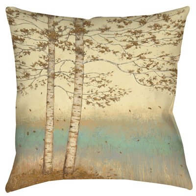 Golden Birch 2 Indoor/Outdoor Throw Pillow Size: 20 H x 20 W x 5 D