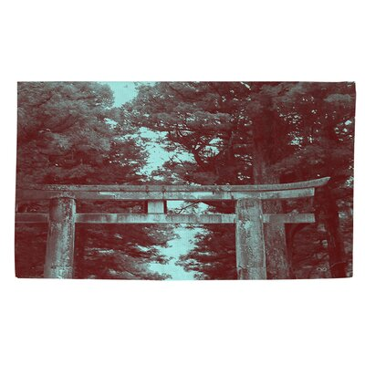 Nikko Gate Brown Area Rug Rug Size: 4 x 6