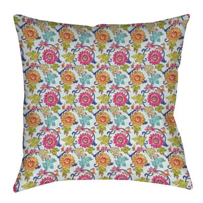 Shangri La Leaves Printed Throw Pillow Size: 16 H x 16 W x 4 D