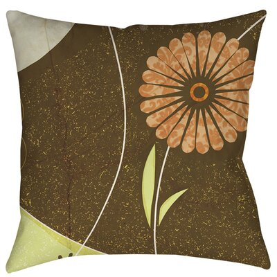 Graphic Garden Suri Indoor/Outdoor Throw Pillow Size: 18 H x 18 W x 5 D