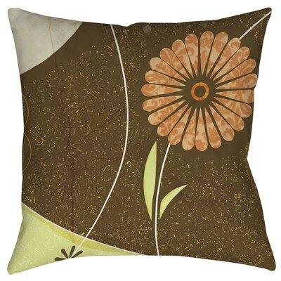 Graphic Garden Suri Printed Throw Pillow Size: 18 H x 18 W x 5 D