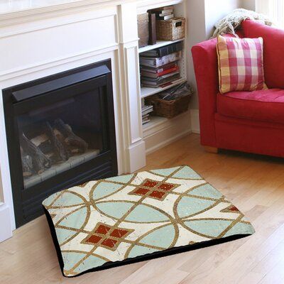 Garden Tile 1 Pet Bed Size: 28 L x 18 W