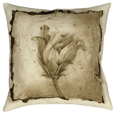 Floral Impression 8 Printed Throw Pillow Size: 20
