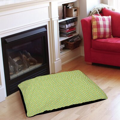 Funhouse Pet Bed Size: 40 L x 30 W, Color: Green