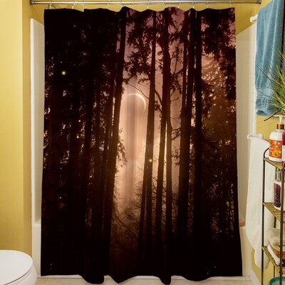 Forest Skyline Shower Curtain