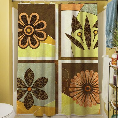 Graphic Garden Sydney Shower Curtain