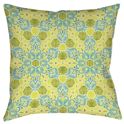 Funhouse 47 Indoor/Outdoor Throw Pillow Size: 16 H x 16 W x 4 D