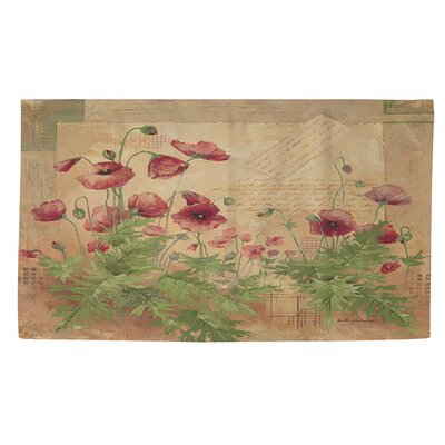 Floral 1 Area Rug Rug Size: 2 x 3