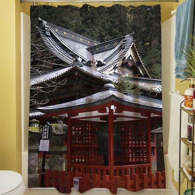 Nikko Monastery Building Shower Curtain