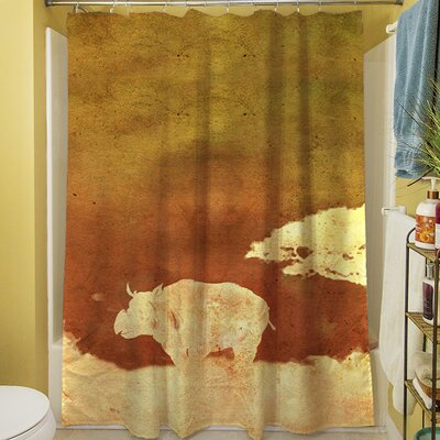 Safari Sunrise II Shower Curtain