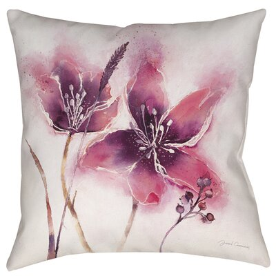Garden Tour View Printed Throw Pillow Size: 26 H x 26 W x 7 D