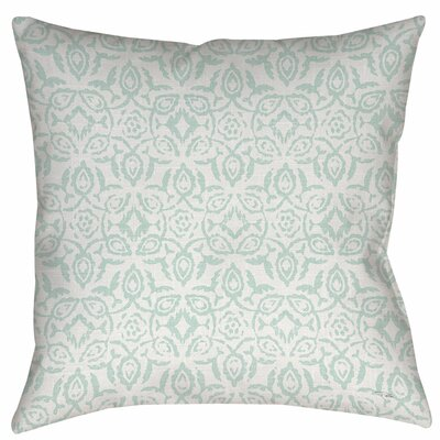 Flowing Damask 2 Indoor/Outdoor Throw Pillow Size: 16 H x 16 W x 4 D