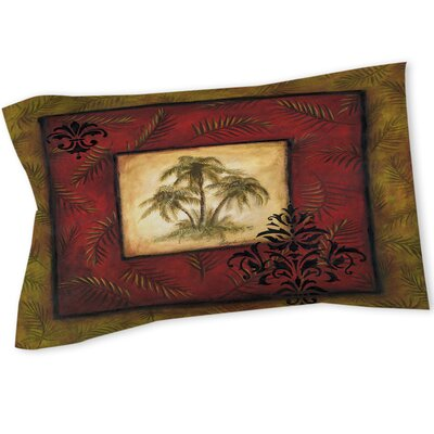 Palm Breezes V Sham Size: Queen/King
