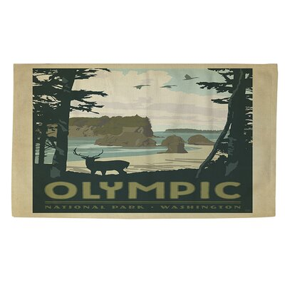 Olympic Multi Area Rug Rug Size: 4 x 6
