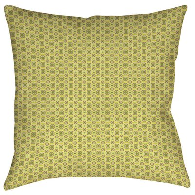 Rael Indoor/Outdoor Throw Pillow Size: 18 H x 18 W x 5 D, Color: Tan