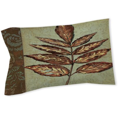 Golden Leaf II Sham Size: Queen/King