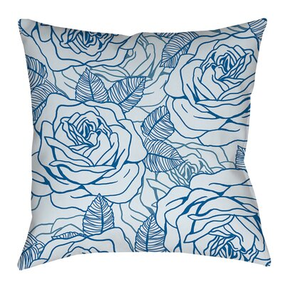 Rose Tonic Printed Throw Pillow Size: 18 H x 18 W x 5 D