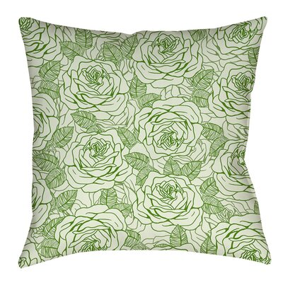 Rose Tonic Indoor/Outdoor Throw Pillow Size: 16 H x 16 W x 4 D