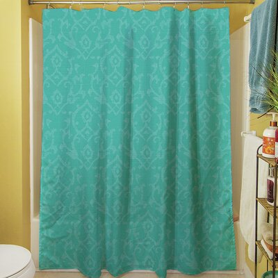 Flowing Damask Shower Curtain