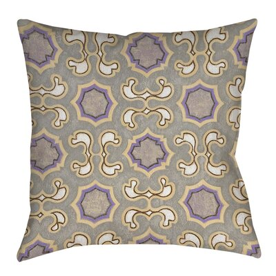 Plum Scene 1 Indoor/Outdoor Throw Pillow Size: 16 H x 16 W x 4 D