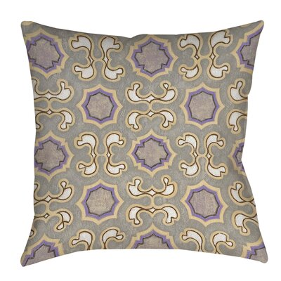 Plum Scene 1 Printed Throw Pillow Size: 16 H x 16 W x 4 D