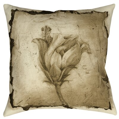 Floral Impression 8 Indoor/Outdoor Throw Pillow Size: 16 H x 16 W x 4 D