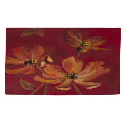 Ray of Hope Red Area Rug Rug Size: 2 x 3