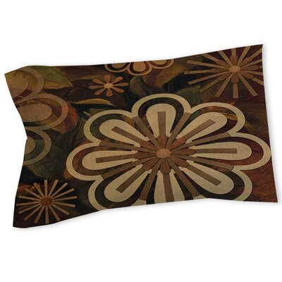 Floral Abstract II Sham Size: Queen/King
