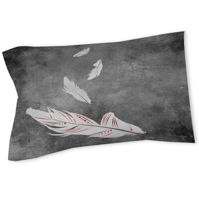 Feather Float Sham Size: Queen/King, Color: White