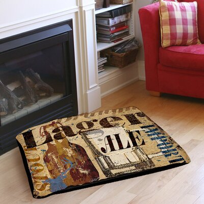 Old Lager Indoor/Outdoor Pet Bed Size: 28 L x 18 W