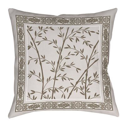 Oriental Treasure Indoor/Outdoor Throw Pillow Size: 18 H x 18 W x 5 D