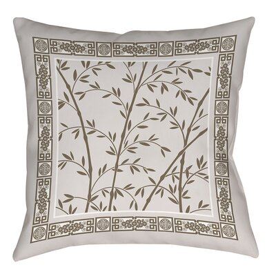 Oriental Treasure Printed Throw Pillow Size: 14 H x 14 W x 3 D