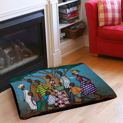 Family Tree Pet Bed Size: 28 L x 18 W