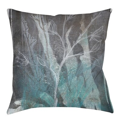 Ombre Wildflowers IV Printed Throw Pillow Size: 20 H x 20 W x 5 D