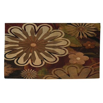 Floral Abstract 1 Area Rug Rug Size: 4 x 6