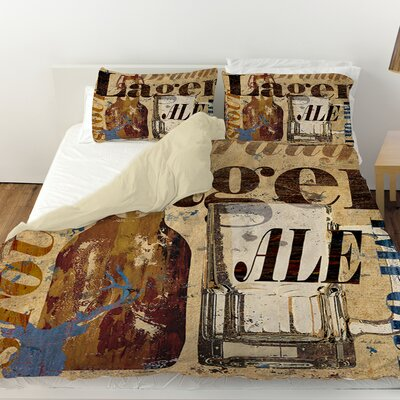 Old Lager Duvet Cover Size: King