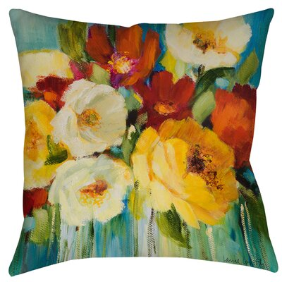 Marya 1 Printed Throw Pillow Size: 14 H x 14 W x 3 D