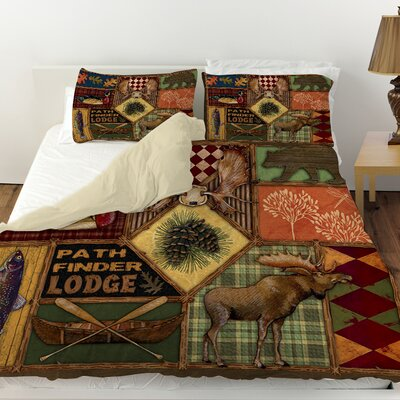 Pathfinder Duvet Cover Size: Twin