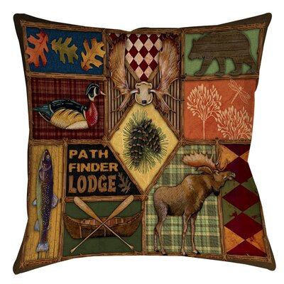 Adamski Indoor/Outdoor Throw Pillow Size: 16 H x 16 W x 4 D