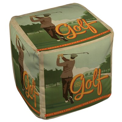 Golf Bad Day Ottoman