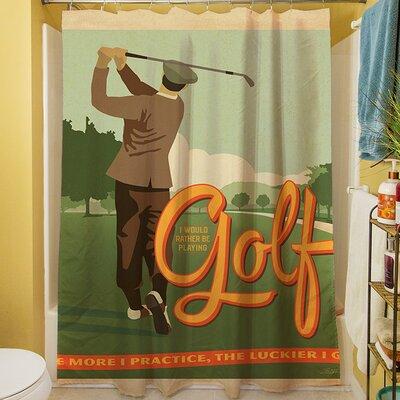 Golf Bad Day Shower Curtain