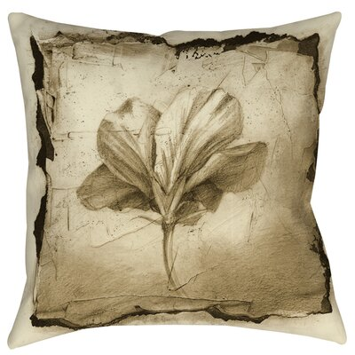 Floral Impression 9 Indoor/Outdoor Throw Pillow Size: 16 H x 16 W x 4 D