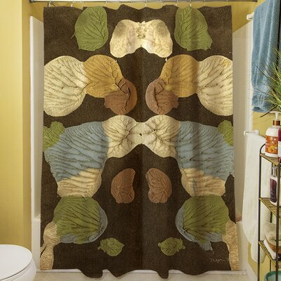 Rorschach Abstract Shower Curtain