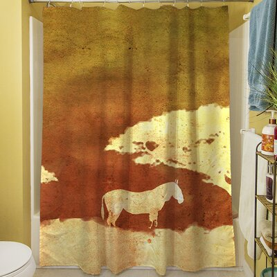 Safari Sunrise III Shower Curtain