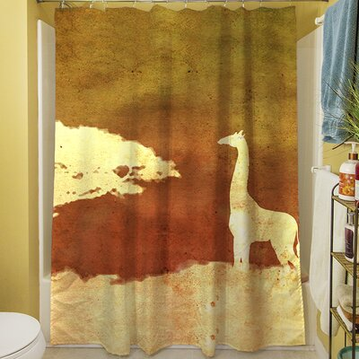 Safari Sunrise IV Shower Curtain