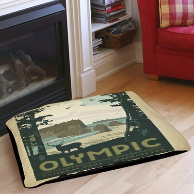 Olympic Indoor/Outdoor Pet Bed Size: 50 L x 40 W