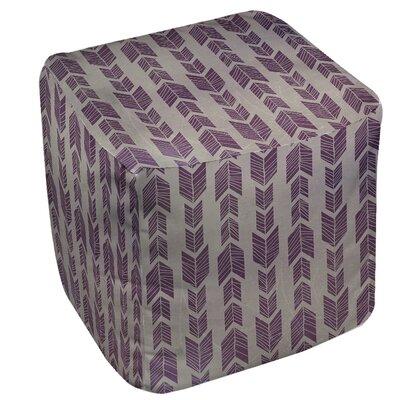Featherwood Ottoman Upholstery: Purple