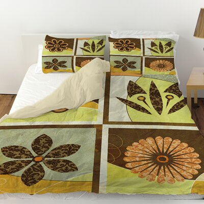 Graphic Garden Sydney Duvet Cover Size: Queen